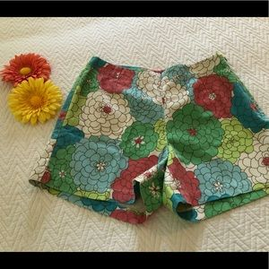 Classic Boden Vintage Floral Shorts